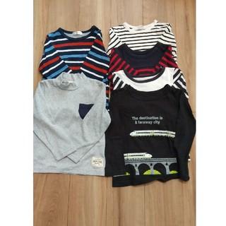 男の子 子供服 まとめ売り ロンT 110cm 6着セット(Tシャツ/カットソー)