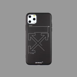OFF-WHITE - シンプルでお洒落なデザイン オフホワイト iPhoneケース 11pro Max