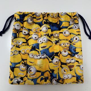 ミニオン(ミニオン)のミニオンズ 巾着 ミニオンズ コップ袋(ランチボックス巾着)