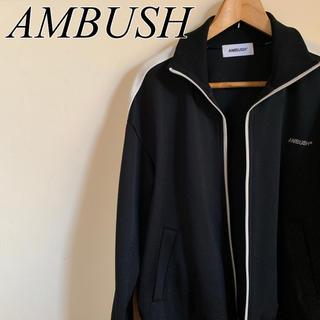 アンブッシュ(AMBUSH)のAMBUSH WAVES TRACK TOP BLACK サイズ2(ジャージ)