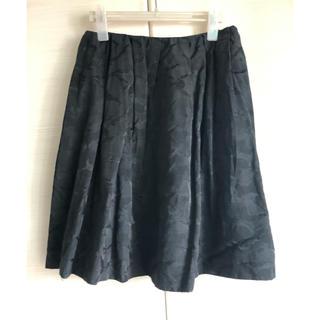 グリーンレーベルリラクシング(green label relaxing)のグリーンレーベルリラクシング スカート フレアスカート ブラック M(ひざ丈スカート)