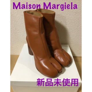 マルタンマルジェラ(Maison Martin Margiela)のMaison Margiela メゾンマルジェラ Tabi タビ レザーブーツ(ブーツ)