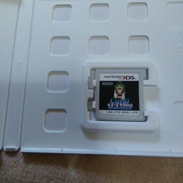 ニンテンドー3DS(ニンテンドー3DS)のルイージマンション 3DS エンタメ/ホビーのゲームソフト/ゲーム機本体(携帯用ゲームソフト)の商品写真