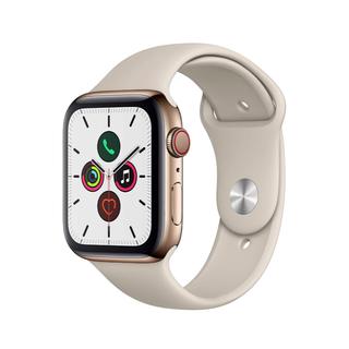 アップルウォッチ(Apple Watch)の未開封 Apple Watch Series 5-44mmゴールドステンレスス(腕時計(デジタル))