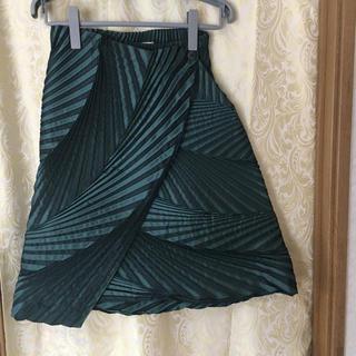 イッセイミヤケ(ISSEY MIYAKE)のイッセイミヤケ  巻きスカート(ひざ丈スカート)
