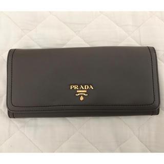 PRADA - ★美品★ PRADA 長財布 グレージュ