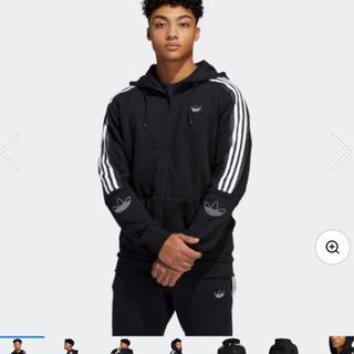 アディダス(adidas)のADIDAS ORIGINALS アウトライン クルーネック スウェット(パーカー)