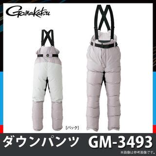 ガマカツ(がまかつ)の新品  がまかつ Gamakatsu ダウンパンツ (GM-3493)(ウエア)