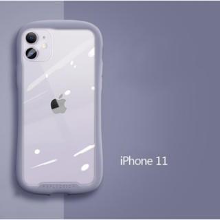 iPhone - カラバリあり⭐︎ シンプル パープル iPhone 11ケース 定番 耐衝撃
