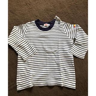 ミキハウス(mikihouse)のミキハウス 長袖Tシャツ紺(Tシャツ/カットソー)