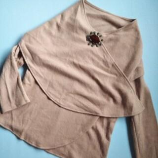 シビラ(Sybilla)のSybilla ケープ付きセーター(ニット/セーター)