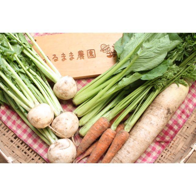 成田産 お野菜詰め合わせ5品Sサイズ(栽培期間中無農薬、無化学肥料) 食品/飲料/酒の食品(野菜)の商品写真