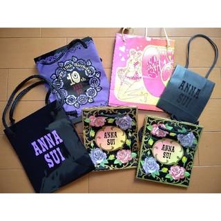 アナスイ(ANNA SUI)のアナスイ ショップバッグ 6枚セット(ショップ袋)