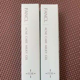 ファンケル(FANCL)のファンケル アクネケア ジェル乳液 18g 2本セット(乳液/ミルク)