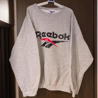 Reebok - USA製 リーボック スウェット トレーナー グレー