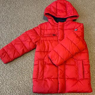 PETIT BATEAU - プチバトー 中綿の赤 6歳 ダウンジャケット