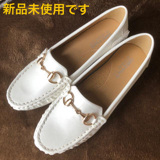 ローファー (レディース靴) ホワイト
