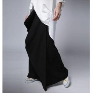 *antiqua*ドレープスカート 完売品 ブラック