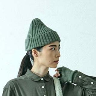 MUJI (無印良品) - IDEE/POOL *いろいろの服*     ノルマンディーニットキャップ