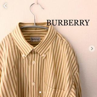 BURBERRY - BURBERRY REGD ストライプシャツ Lサイズ バーバリー
