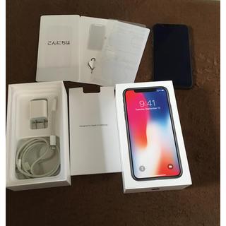 iPhoneX  256gb simフリー 元docomo