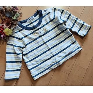 ファミリア(familiar)のファミリア ボーダー ロンT Tシャツ 80(Tシャツ)