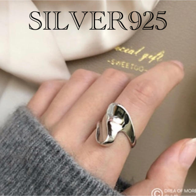 L'Appartement DEUXIEME CLASSE(アパルトモンドゥーズィエムクラス)の高品質SILVER925RING レディースのアクセサリー(リング(指輪))の商品写真