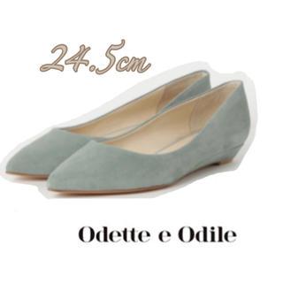 オデットエオディール(Odette e Odile)の【新品未使用】odette e odile  ポインテッドウェッジパンプス(ハイヒール/パンプス)