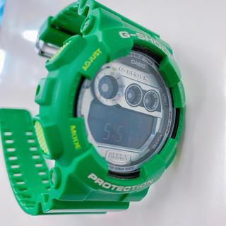 G-SHOCK - CASIO G-SHOCK レア グリーン 緑  腕時計 スーパーイルミネーター