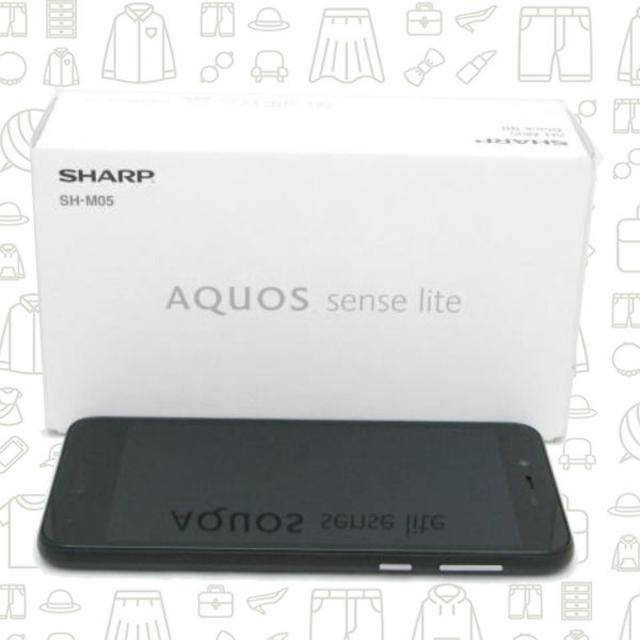 AQUOS(アクオス)の【A】SH-M05/32/SIMフリー スマホ/家電/カメラのスマートフォン/携帯電話(スマートフォン本体)の商品写真