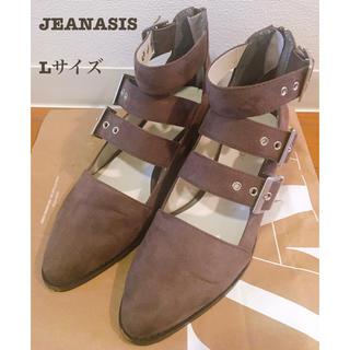 JEANASIS - ジーナシス JEANASIS 3ベルトバックルブーツ L