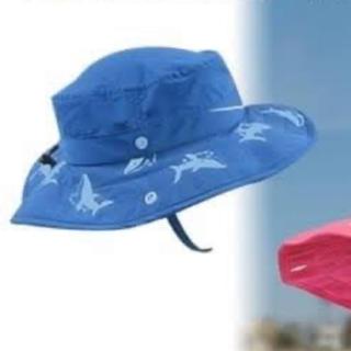 コストコ(コストコ)のキッズ  ハット 帽子 日よけ 日焼け防止 3歳ー10歳 男の子(帽子)