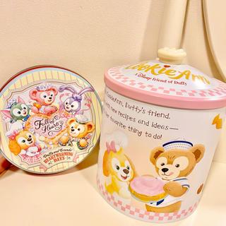 Disney - ダッフィー クッキーアン お菓子缶
