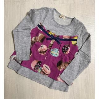 ニットプランナー(KP)のニットプランナー KP トロワラパン マカロン Tシャツ 110(Tシャツ/カットソー)