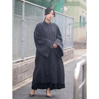 ヨウジヤマモト(Yohji Yamamoto)の求 kujaku2019ss黒百合シャツ(シャツ)