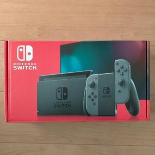 ニンテンドースイッチ(Nintendo Switch)のNintendo Switch 新型グレー (家庭用ゲーム機本体)