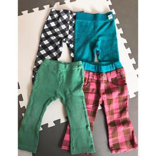 4枚セット 80センチ パンツ 長ズボン(パンツ)