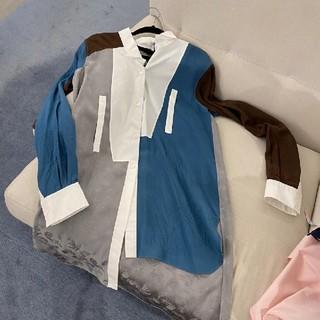 ロエベ(LOEWE)のLOEWEロエベ★月末までのセール★シャツドレス(シャツ/ブラウス(長袖/七分))