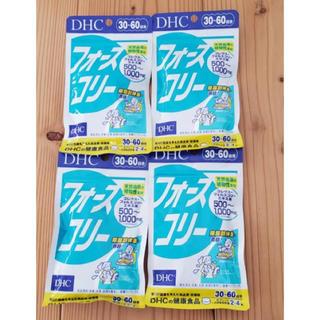 ディーエイチシー(DHC)のDHC フォースコリー 30-60日分✖️4袋(その他)