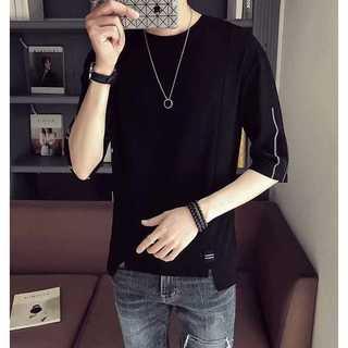 きれいめTシャツ フリーサイズ 黒 ブラック 新品 夏 新作 半袖 シャツ(Tシャツ/カットソー(半袖/袖なし))