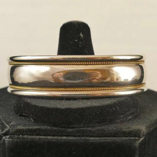 Tiffany & Co. - Tiffany&co. 18K&Silver Cuff Bracelet