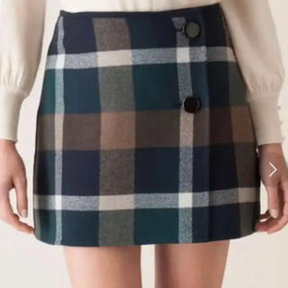 BURBERRY BLUE LABEL - ブルーレーベルクレストブリッジ♡巻きスカート