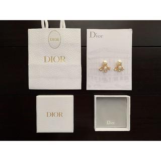 Dior -  ディオール dior アルファベット ピアス