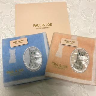 PAUL & JOE - ポール&ジョー PAUL&JOE タオルハンカチ 2枚セット