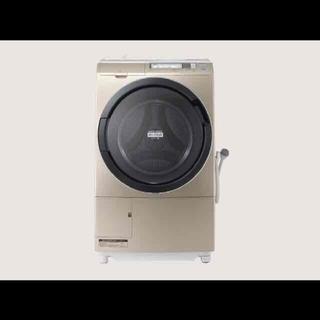 日立 - ドラム式洗濯機 乾燥機 スリム マンションサイズ ビッグドラムスリム ゴールド