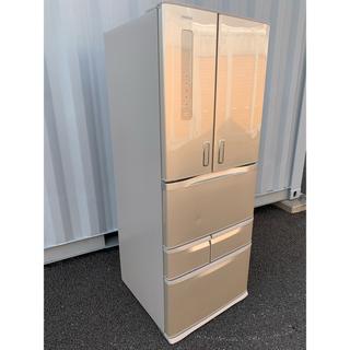 東芝 - TOSHIBA 冷凍冷蔵庫 自動製氷付 保証書有 フレンチドア 6ドア481L