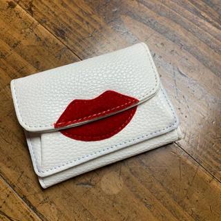 キャセリーニ(Casselini)のキャッセリーニ 唇 折り財布(財布)