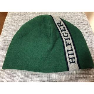 トミーヒルフィガー(TOMMY HILFIGER)のトミーヒルフィガーニット帽 リバーシブルメンズ(ニット帽/ビーニー)