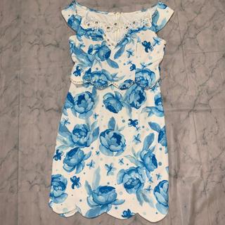 デイジーストア(dazzy store)のオフショルキャバドレス(ナイトドレス)