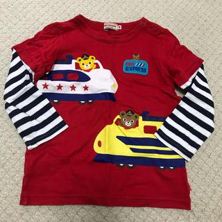 ミキハウス(mikihouse)のミキハウス 赤トップス 90(Tシャツ/カットソー)